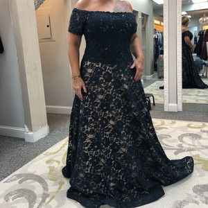 Jovani mother of the bride gown size 20.
